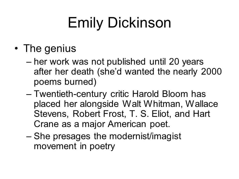 walt whitman vs emily dickinson