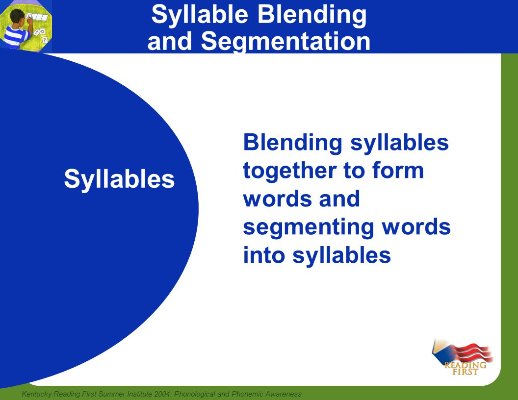 Syllable Blending and Segmentation