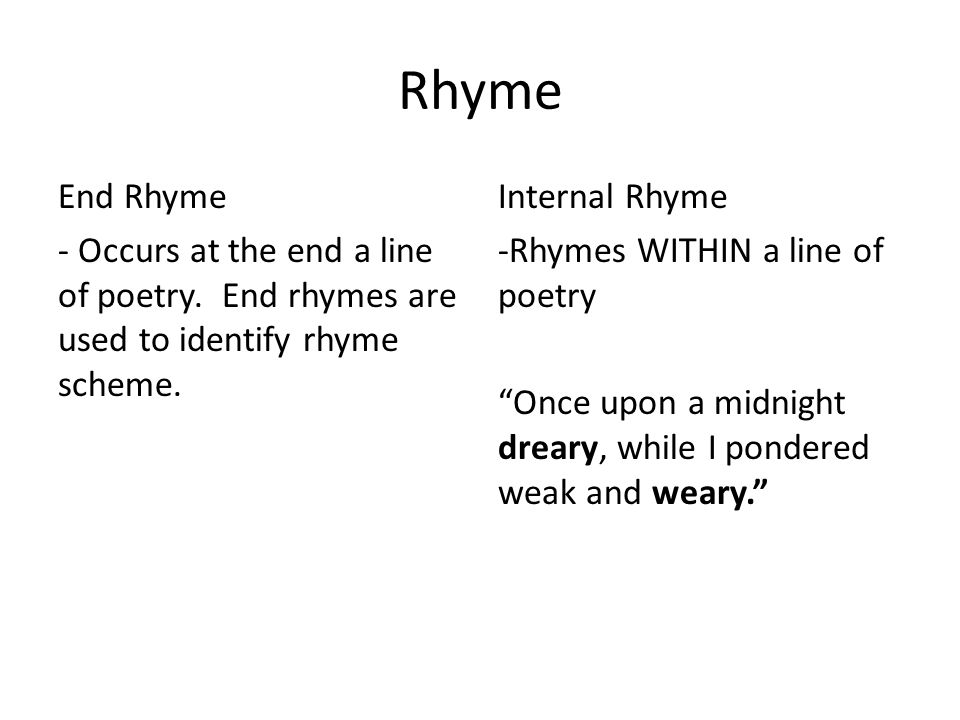 The raven using a venn diagram compare and contrast the raven rhyme end rhyme occurs at the end a line of poetry end rhymes are ccuart Image collections