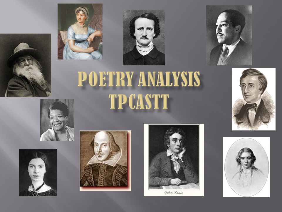 Poetry Analysis TPCASTT
