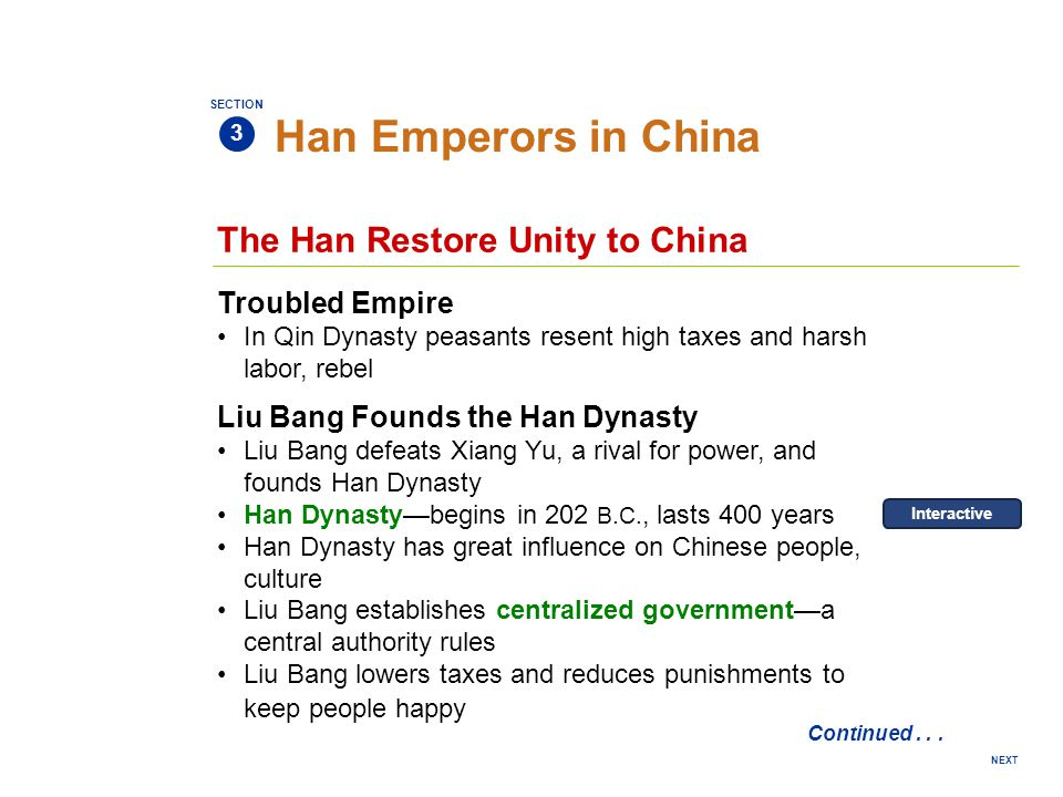 Han Emperors in China The Han Restore Unity to China Troubled Empire