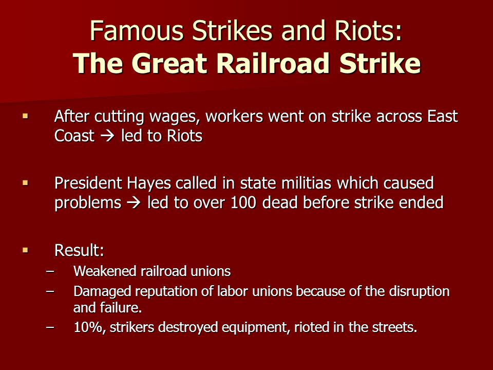 Solutions to Industrial Revolution: Labor Unions???? - ppt