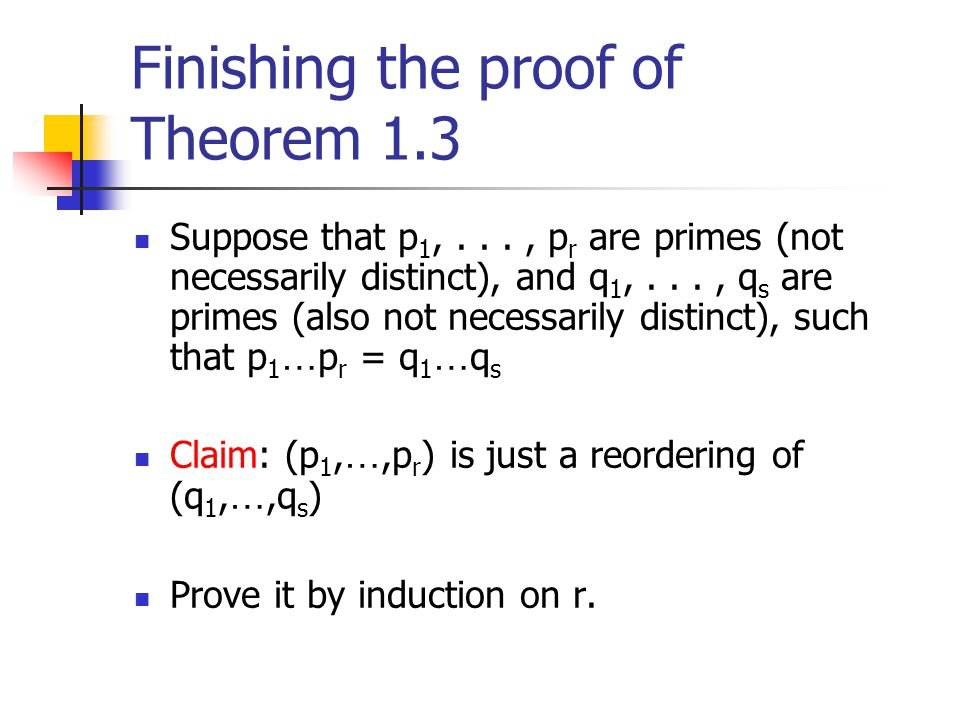 Finishing the proof of Theorem 1.3
