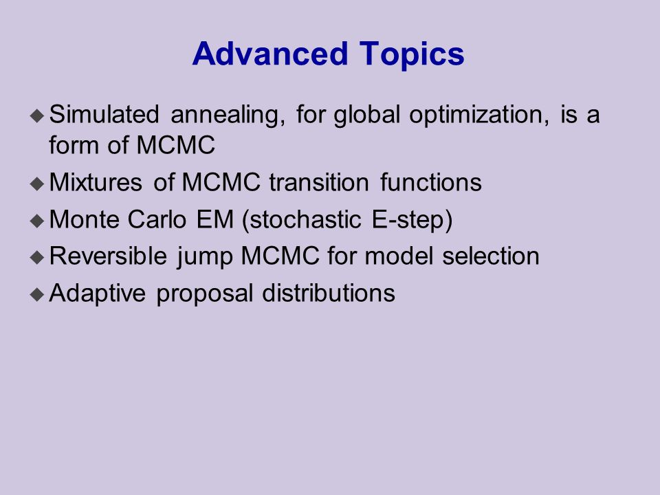 Markov Chains Modified by Longin Jan Latecki - ppt download