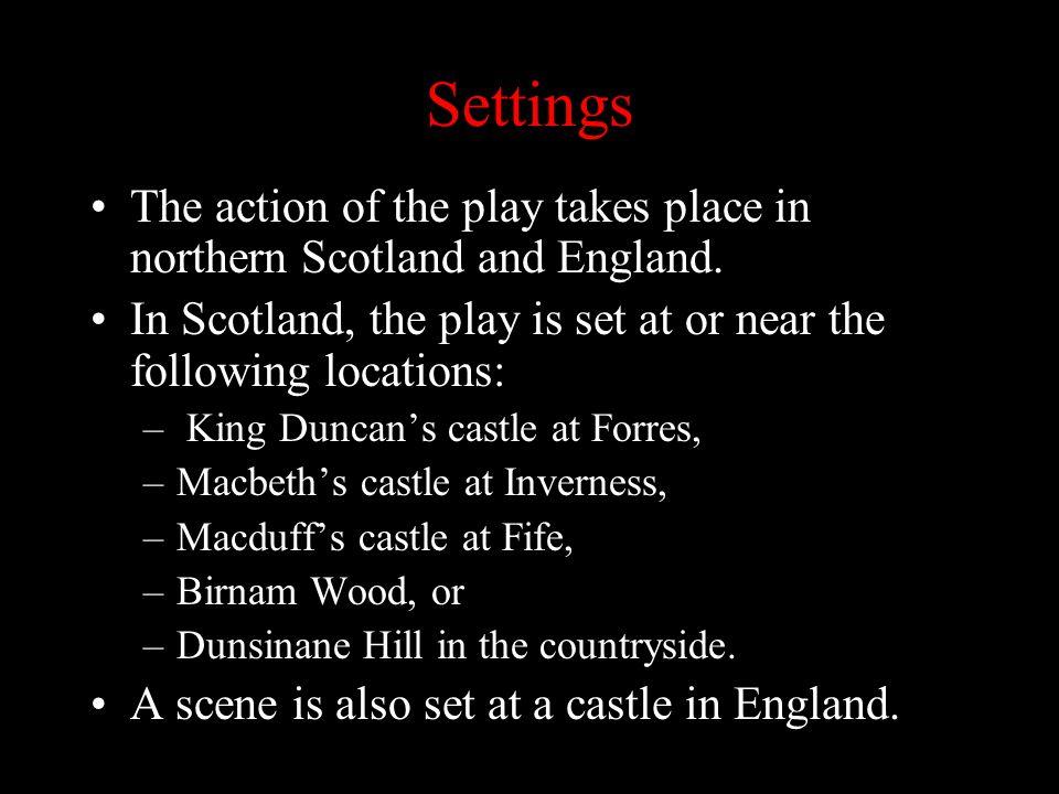 setting of the play macbeth