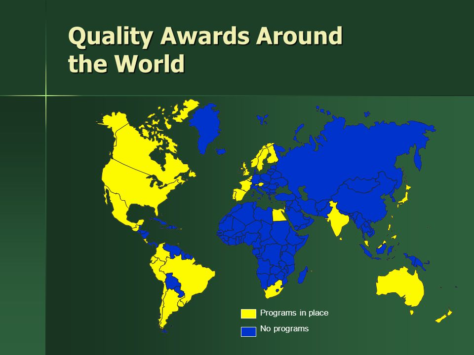 Quality Awards Around the World