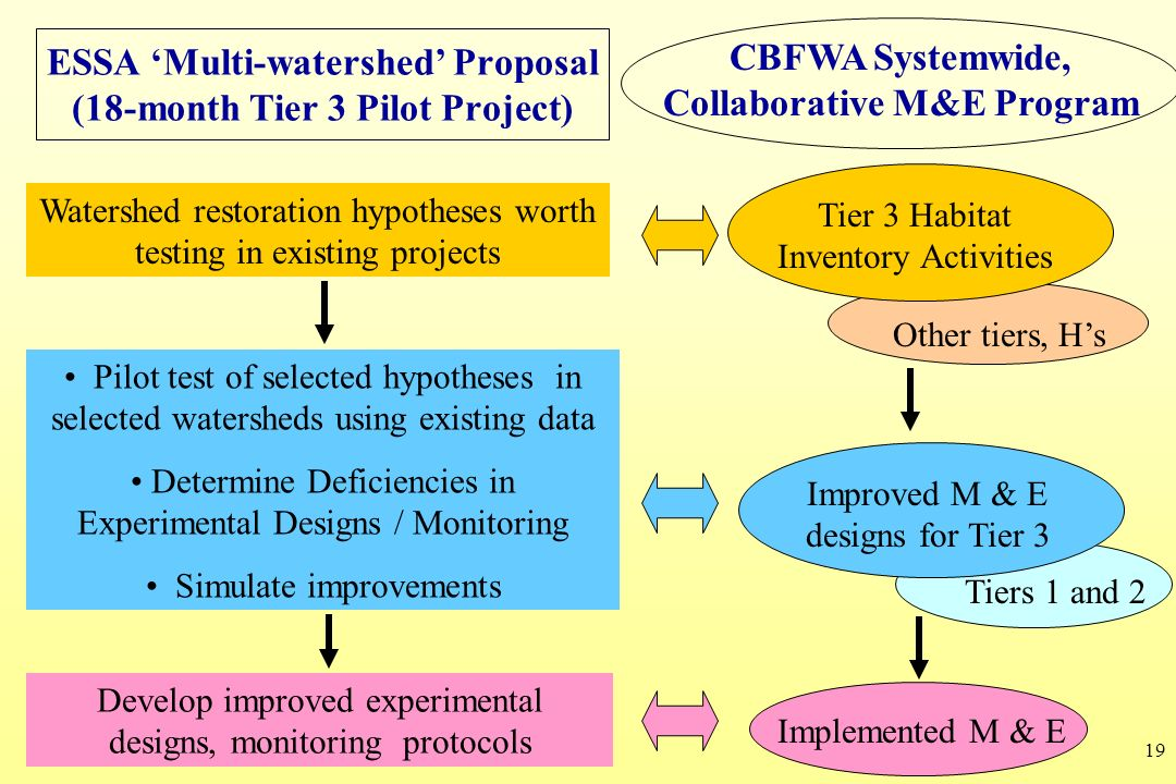 ESSA 'Multi-watershed' Proposal (18-month Tier 3 Pilot Project)