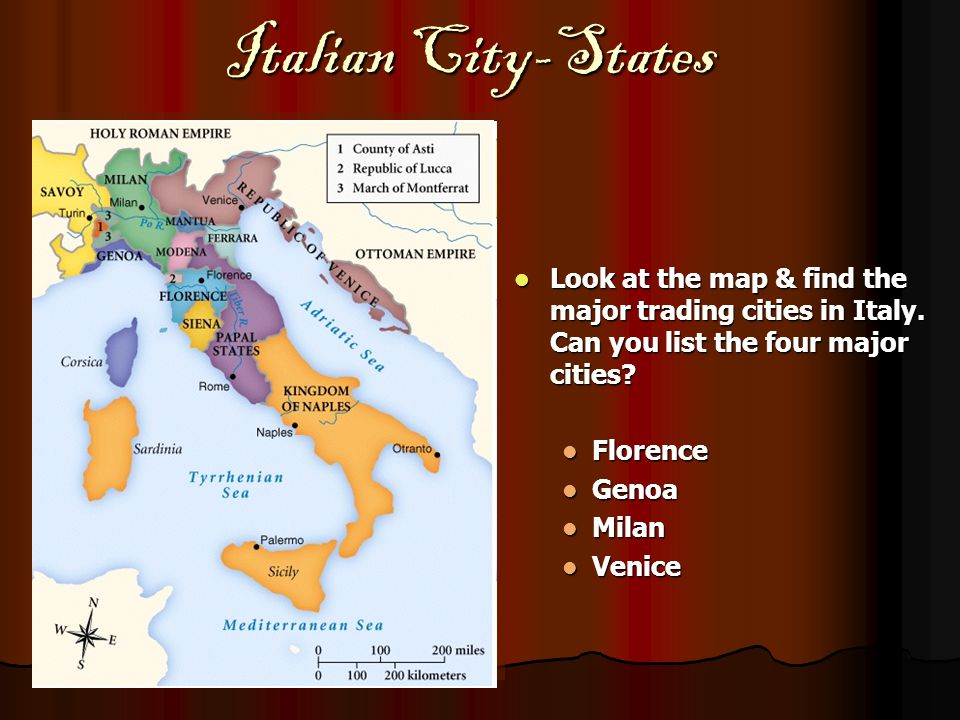 an introduction to the history the renaissance in the italian city states There was the holy roman empire (largely made up of german speaking regions ruled by princes, dukes and electors), the italian city-states, england, as well as the increasingly unified nation states of france and spain (among others.
