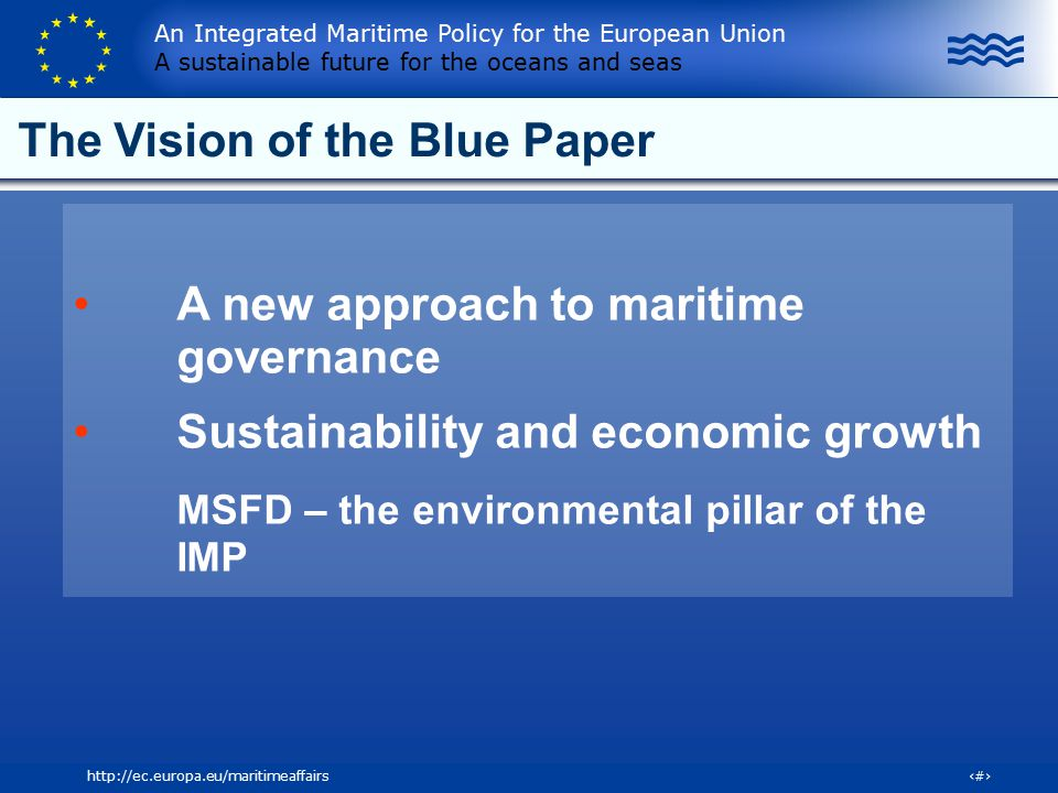 The Vision of the Blue Paper
