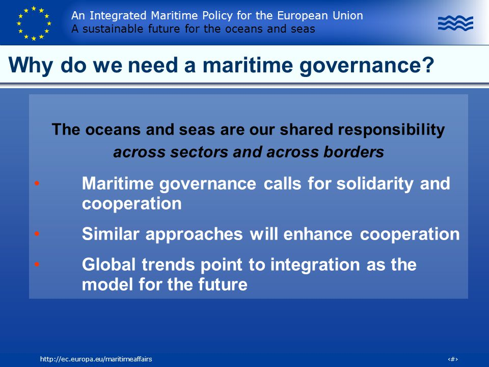 Why do we need a maritime governance