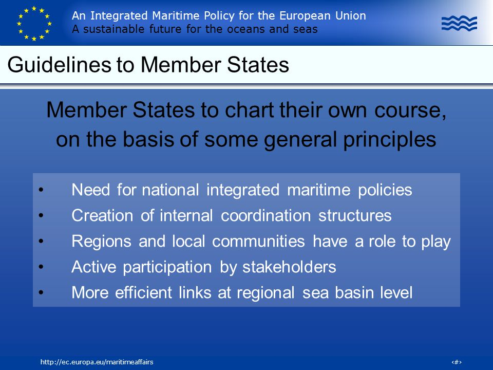 Guidelines to Member States