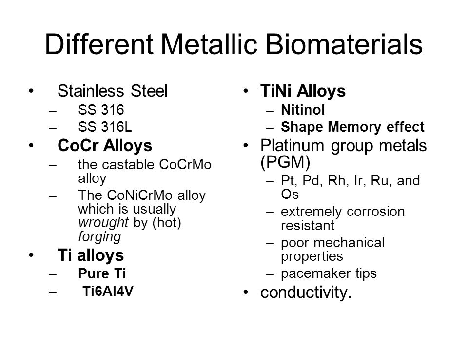 Biomaterials and cell-biomaterial interactions ppt video online.