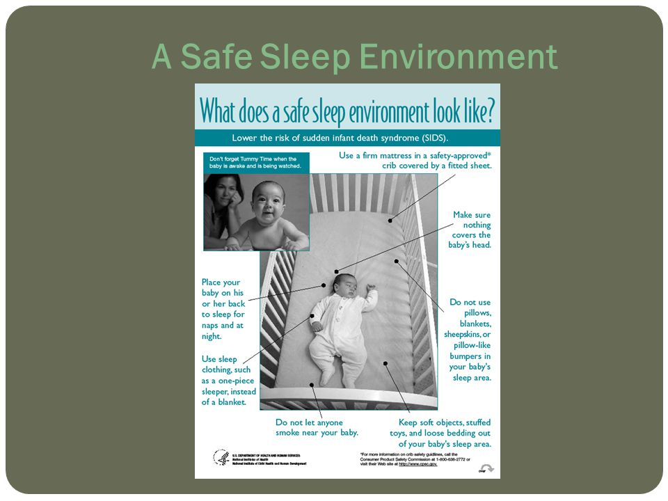A Safe Sleep Environment