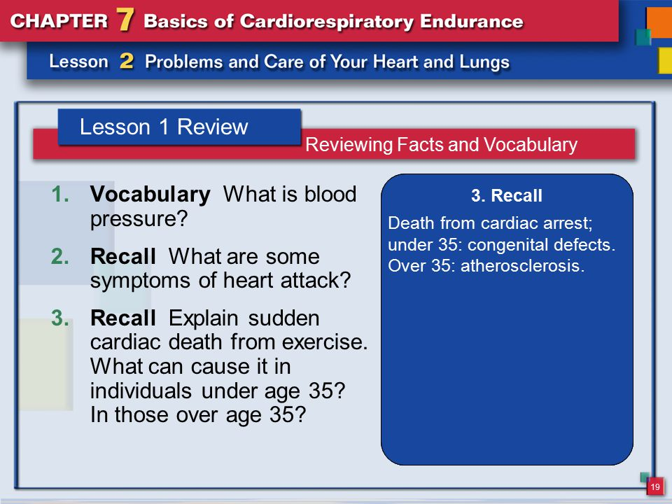 Vocabulary What is blood pressure