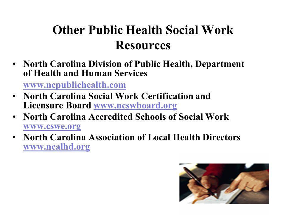 Public Health Social Work In North Carolina Ppt Video Online Download