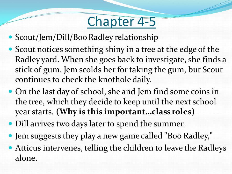 to kill a mockingbird notes chapter 1
