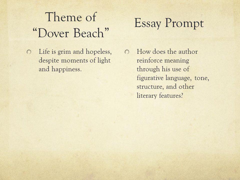 dover beach essay