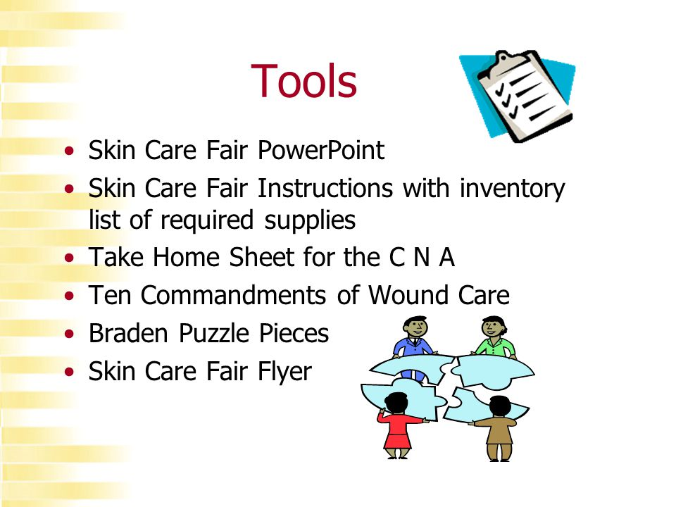Skin Care Fair This Material From Louisiana Health Care