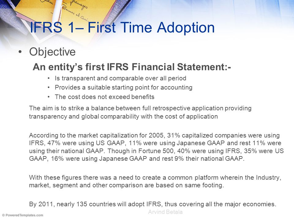 ifrs arguments Ifrs 13 establishes a single definition of fair value for financial reporting purposes, provides a framework for applying this definition, and requires numerous disclosures about the use of fair value measurements in the financial statements.