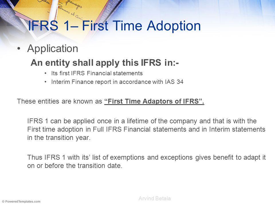 International financial reporting standard 1 ppt download 3 ifrs maxwellsz