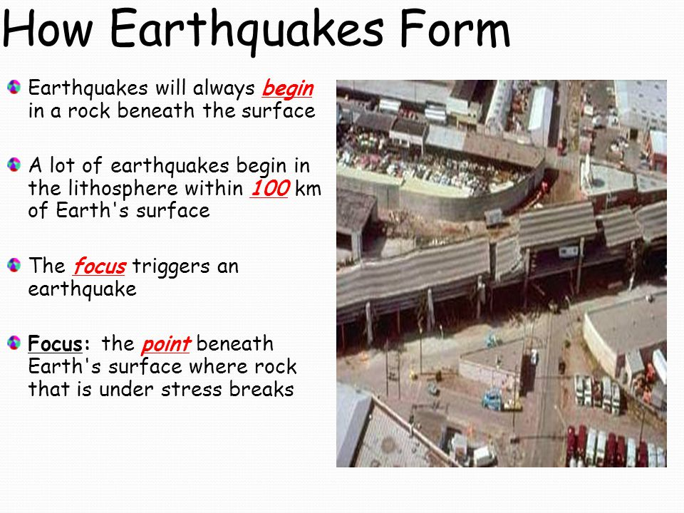 earthquakes ppt download