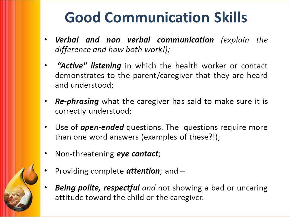 Resume: communication skills resume sample examples good writing.