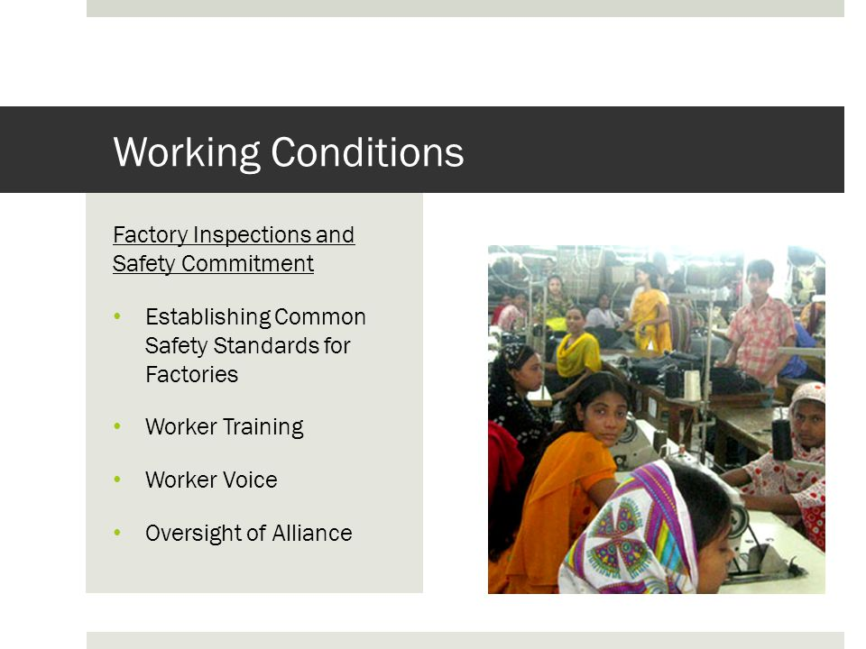 Sweatshop Working Conditions In Bangladesh Ppt Video Online Download