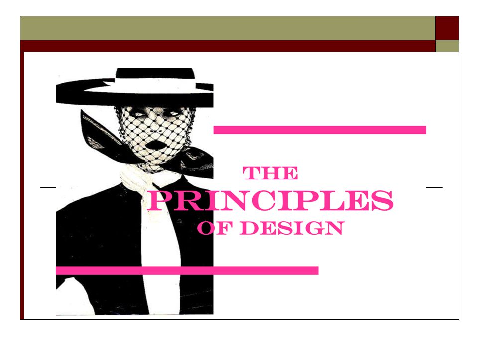The Principles Of Design Ppt Download