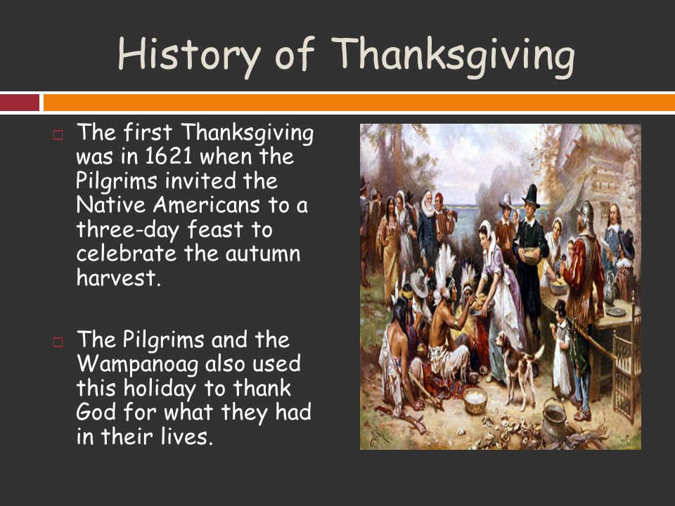 Thanksgiving. - ppt video online download