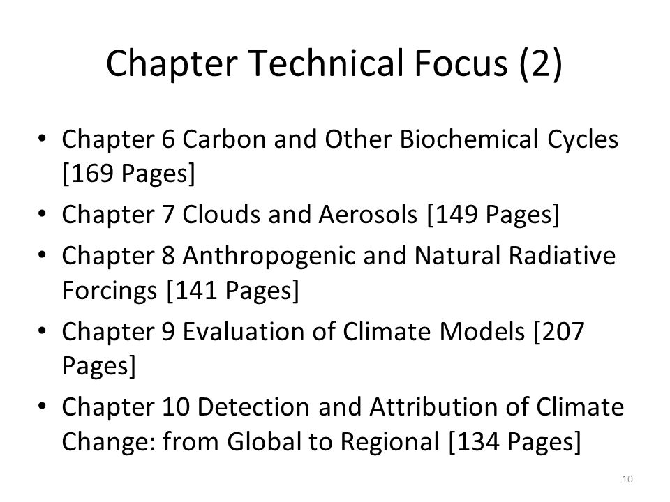 Chapter Technical Focus (2)