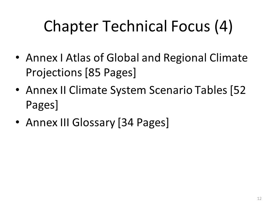 Chapter Technical Focus (4)