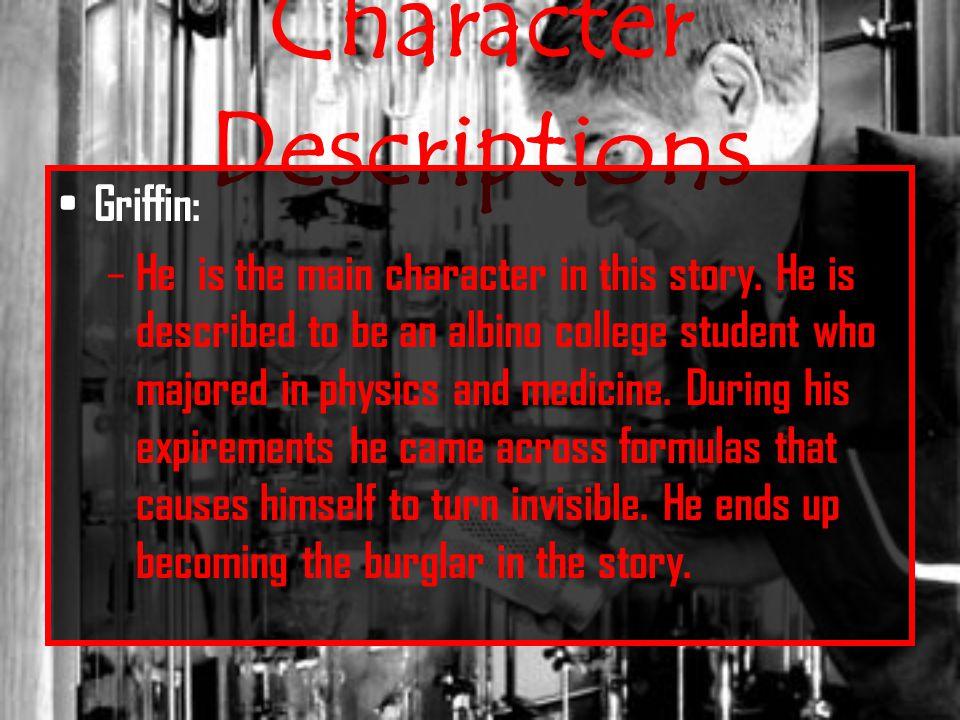 invisible man character analysis