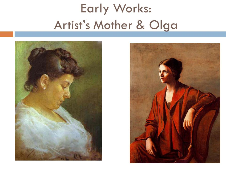 Early Works: Artist's Mother & Olga