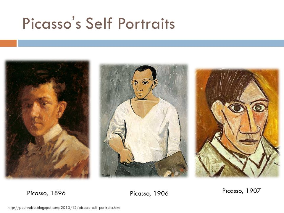 Picasso's Self Portraits