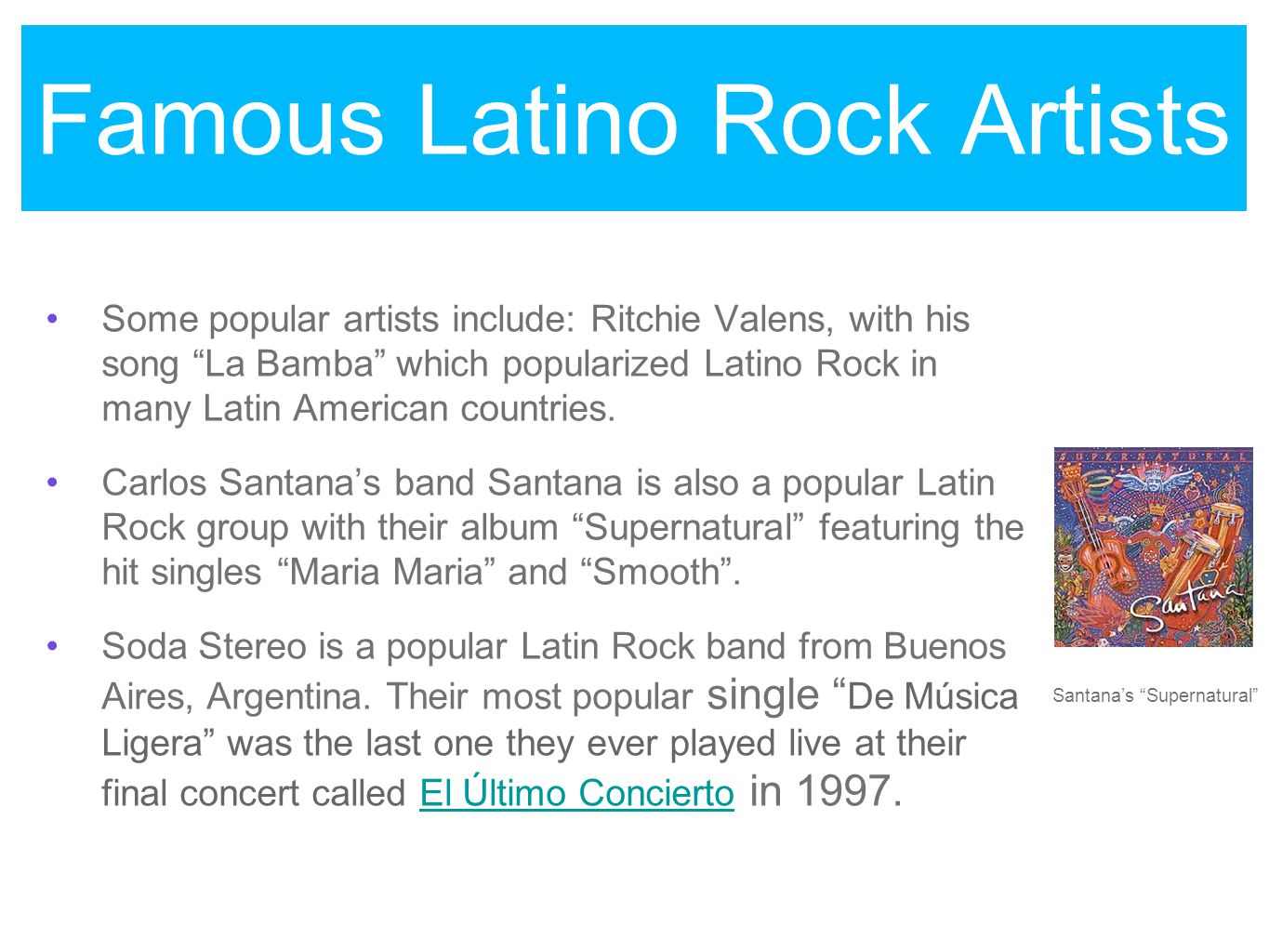 latino rock originated in latin america by nicole quintanilla