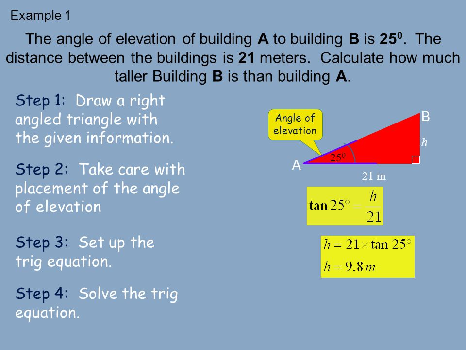 Problem Solving with Right Triangles - ppt video online download