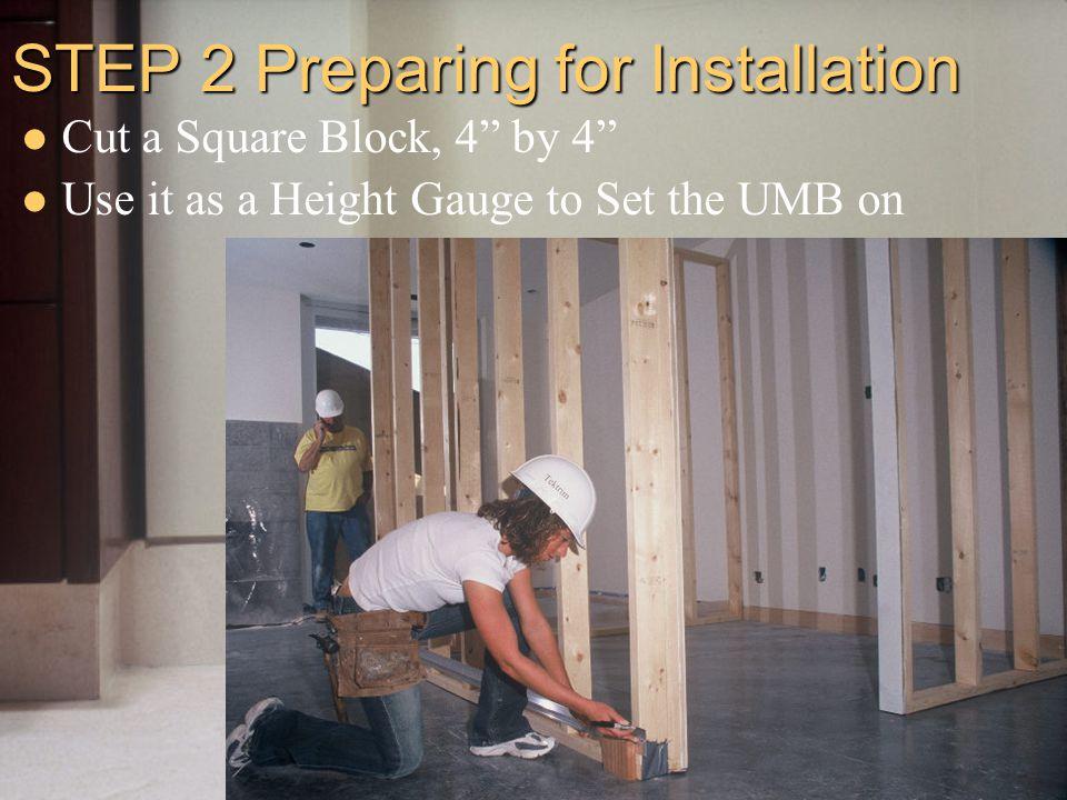 Pleasant Tektrim Installation Installing The Umb Ppt Video Online Download Wiring Digital Resources Counpmognl