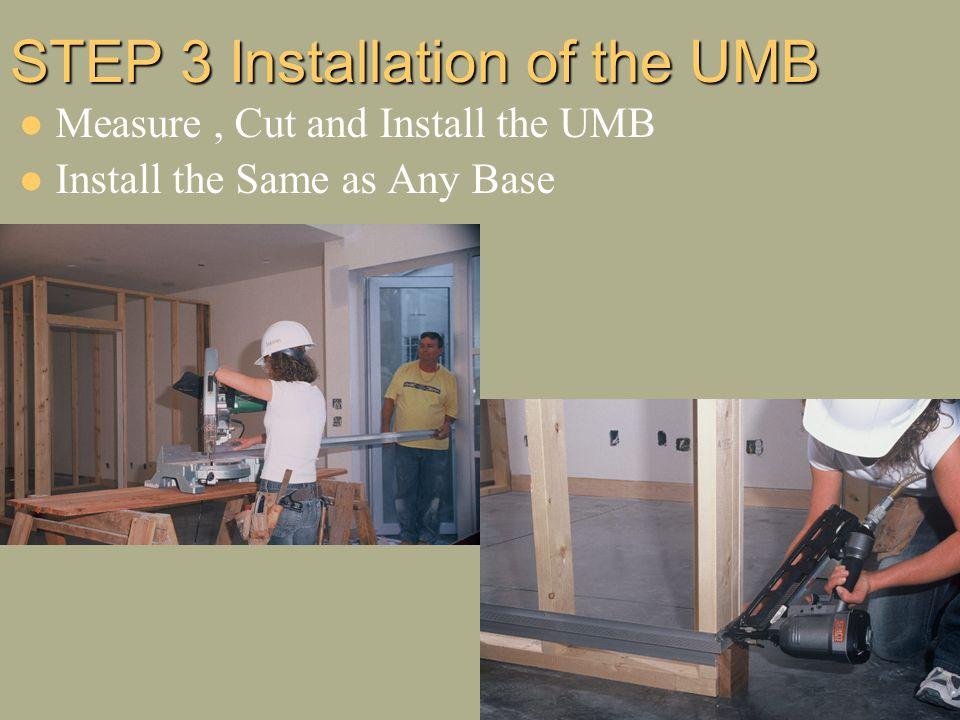 Fantastic Tektrim Installation Installing The Umb Ppt Video Online Download Wiring Digital Resources Counpmognl