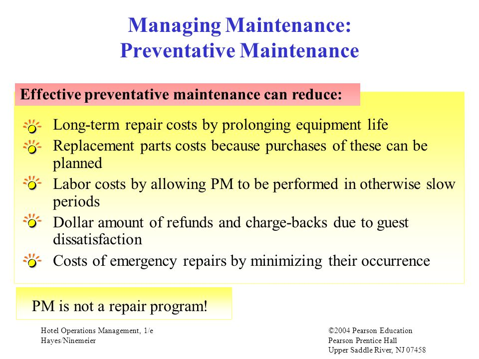 Chapter 11 Facility Engineering & Maintenance - ppt video online