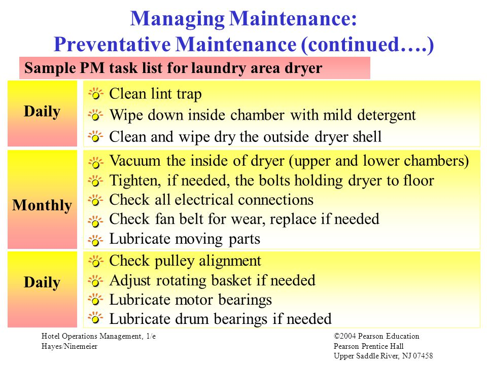Chapter 11 Facility Engineering & Maintenance - ppt video