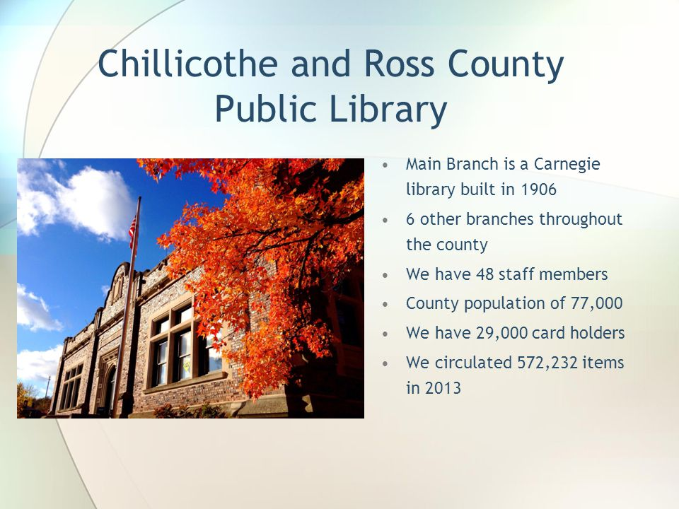 Chillicothe and Ross County Public Library