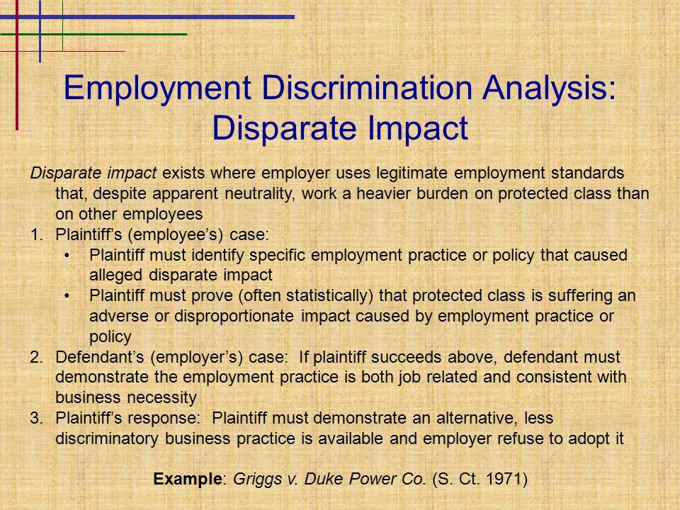 Employment Law Ii Discrimination Ppt Video Online Download