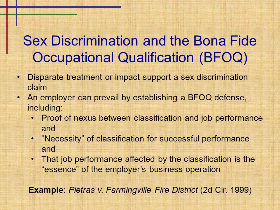 discrimination and multiple bag checks Discrimination: is a complaint with eeoc public record (and appears in background check) if the employer finds something negative in your background if there is something negative in your background, be prepared to explain it and why it shouldn't affect your ability to do the job.