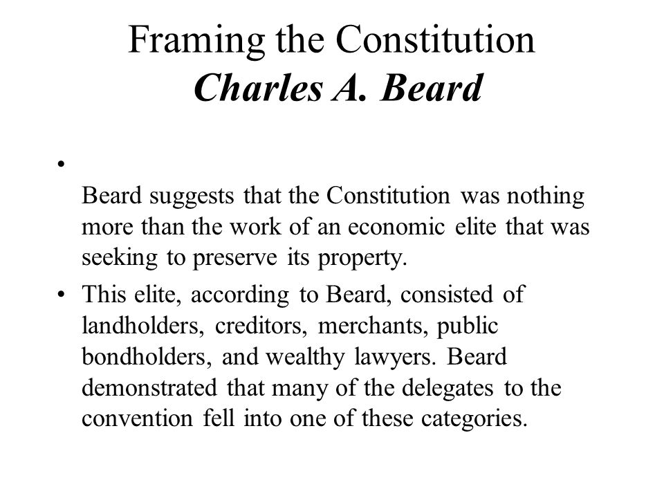 Chapter Two The Constitution. - ppt download