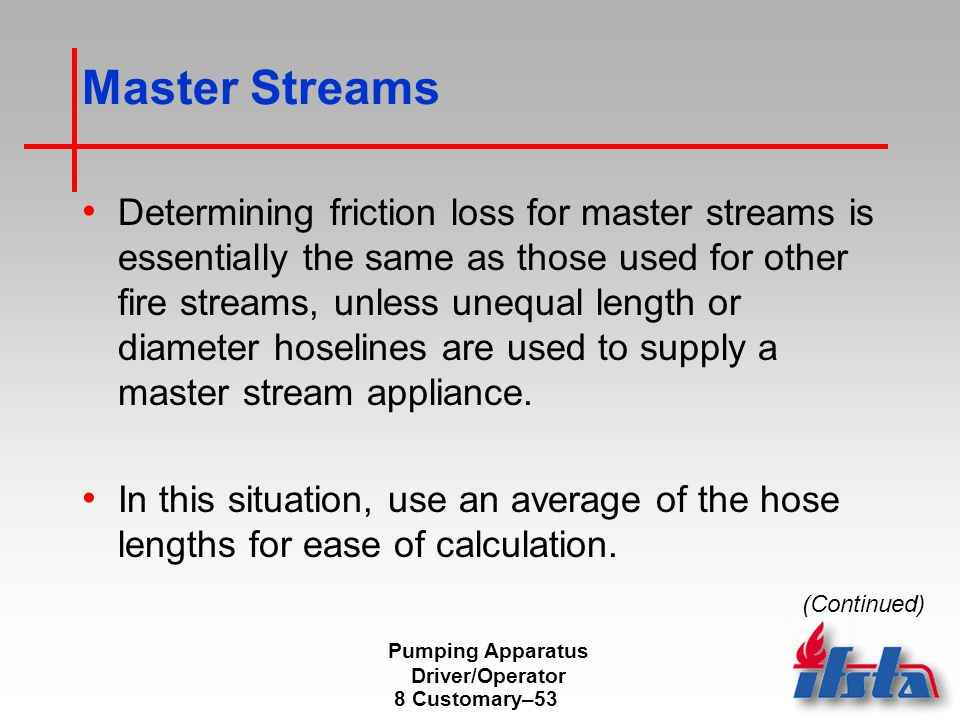 Pumping Apparatus Driver/Operator - ppt video online download