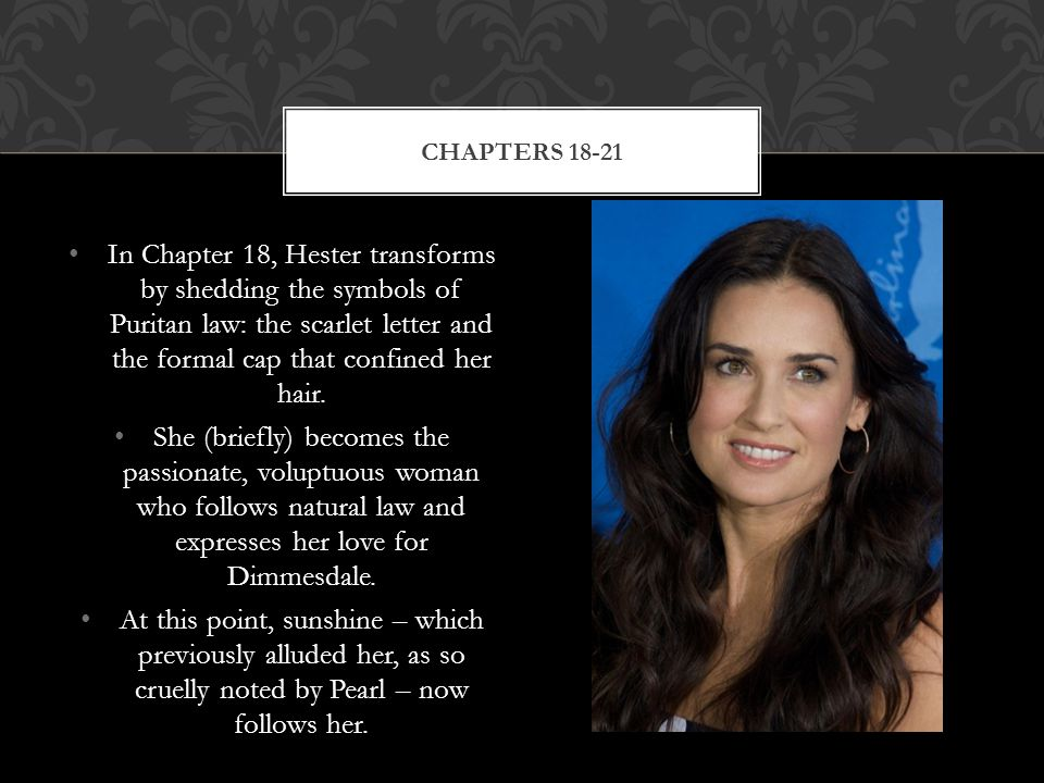 The Scarlet Letter CHAPTER NOTES ADAPTED FROM:   ppt video online