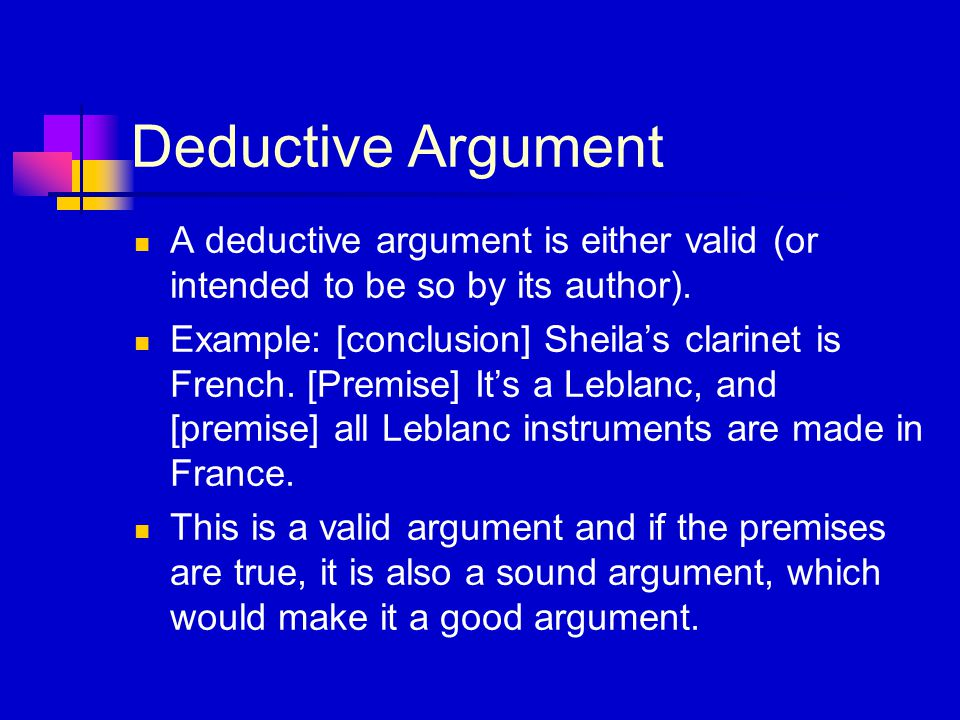 what is a sound argument in critical thinking