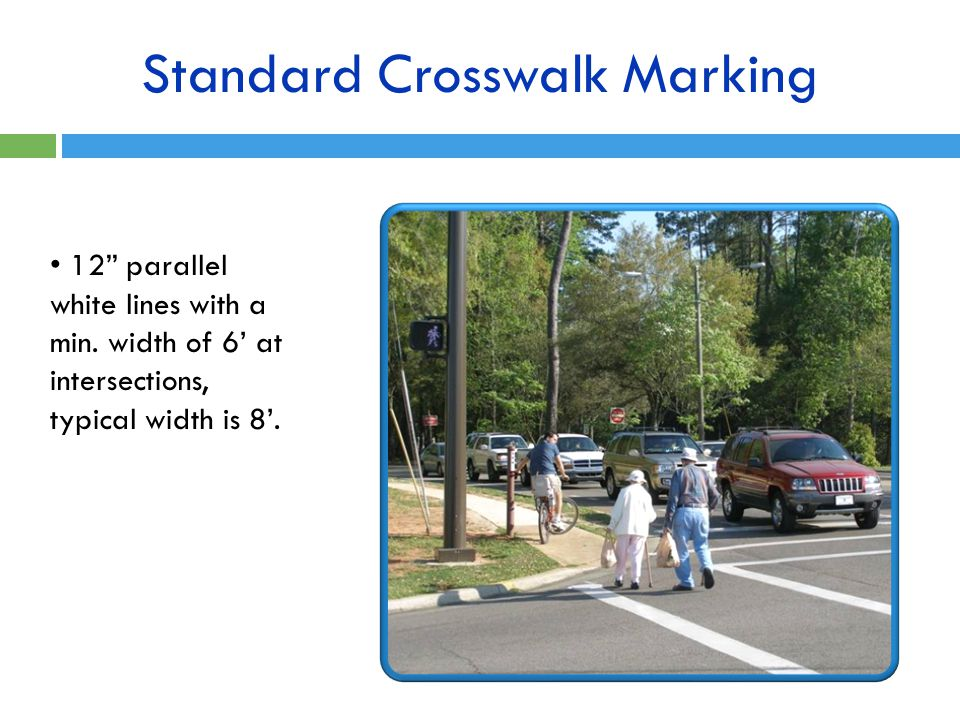 Standard Crosswalk Marking