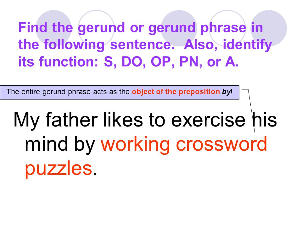 The entire gerund phrase acts as the object of the preposition by!