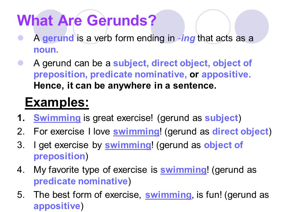 Participles Gerunds Infinitives Ppt Video Online Download